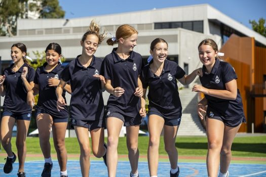 Melbourne Girls Grammar Students