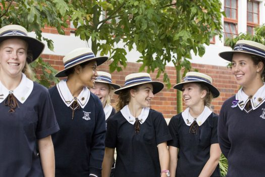 St Margaret's Anglican Girls School students